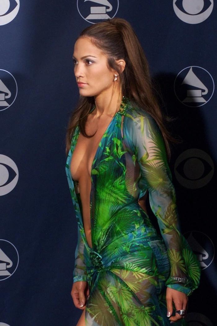 robe-verte-versace-jennifer-lopez-grammy-awards-2000