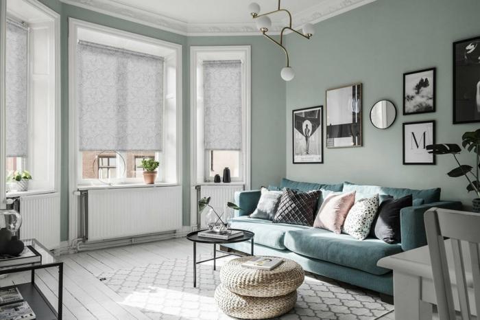 salon moderne tranquil dawn couleur aube tranqille