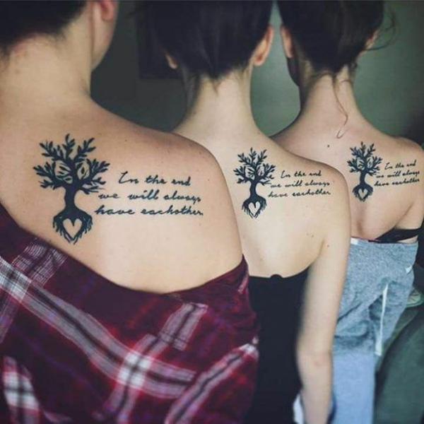 tatouage complémentaire dos pour soeurs
