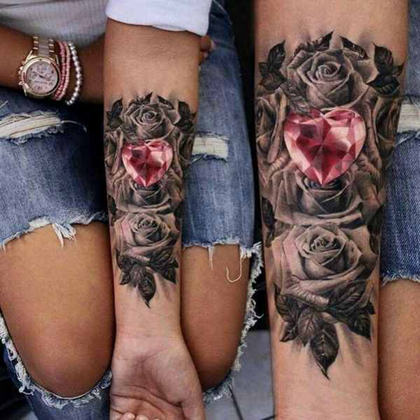 tatouage complémentaire original pour couple
