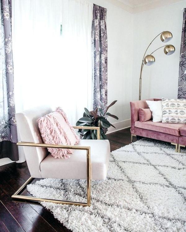 tissus d'ameublement un canapé tapissé en velours