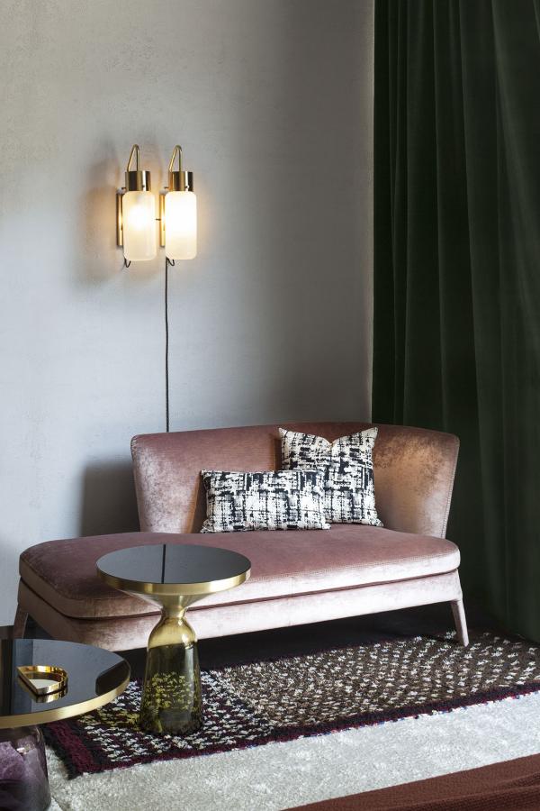 tissus d'ameublement un sofa