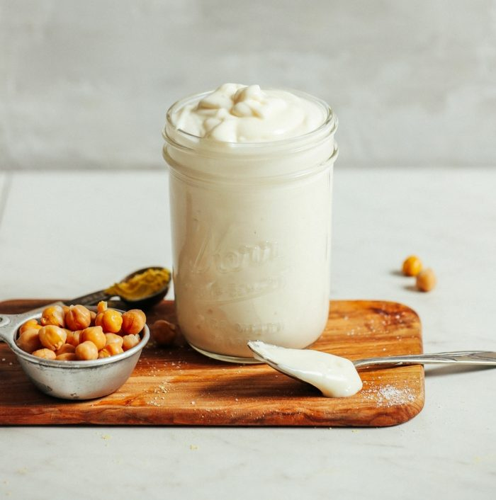 vegan recette mayonnaise avec aquafaba