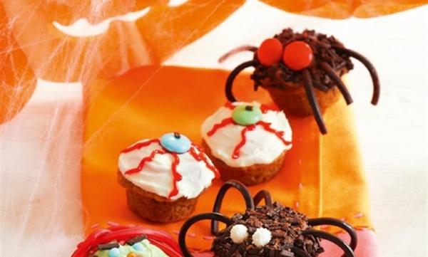 Idée recette Halloween muffins savoureux