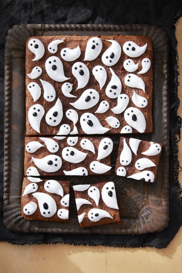 Idée recette Halloween cake décoré