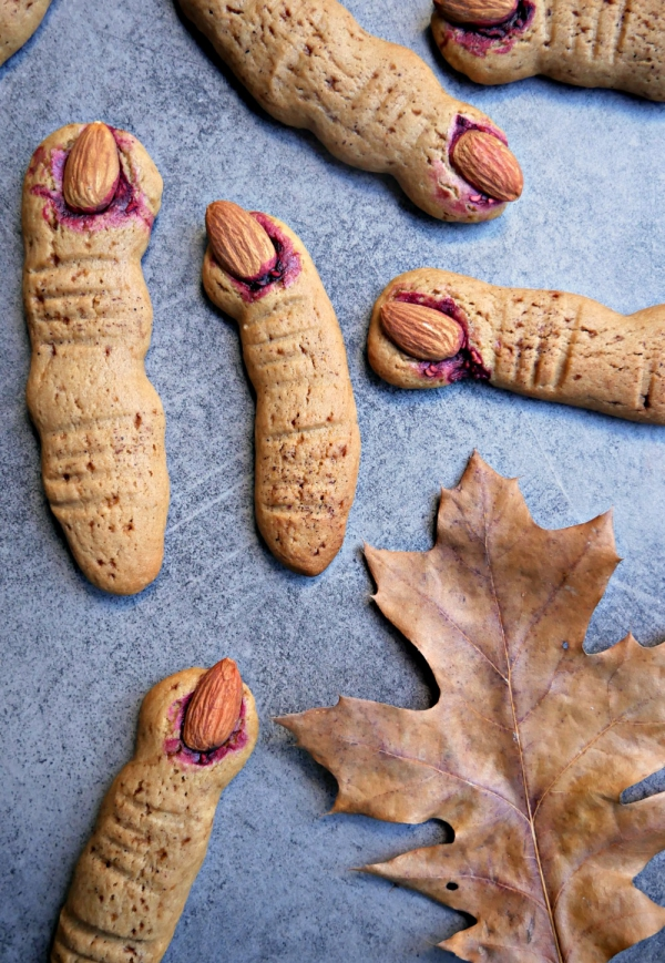 Idée recette Halloween doigts aux amandes