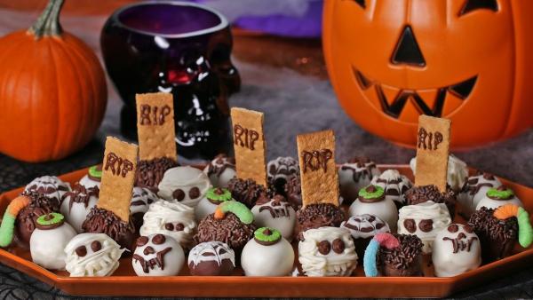 Idée recette Halloween plein de bouchées