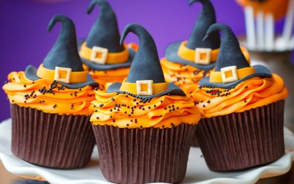 Idée recette Halloween des muffins originaux