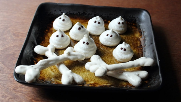 Idée recette Halloween gâteaux croustillants