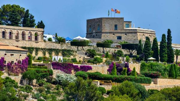le château La Fortaleza où a lieu le mariage de Rafa Nadal