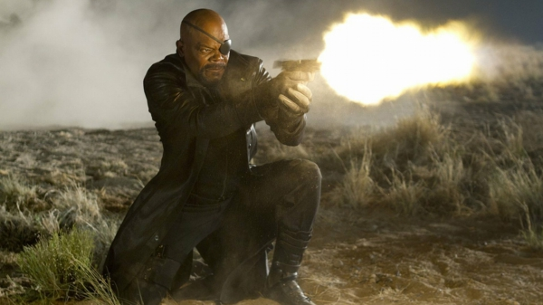 Samuel L Jackson comme Nick Fury 2012 film The Avengers Marvel