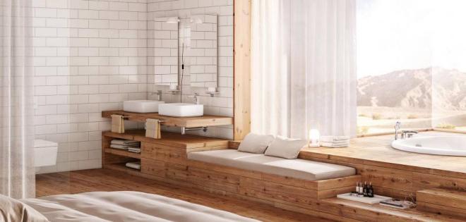 aménagement de salle de bain chambre à coucher