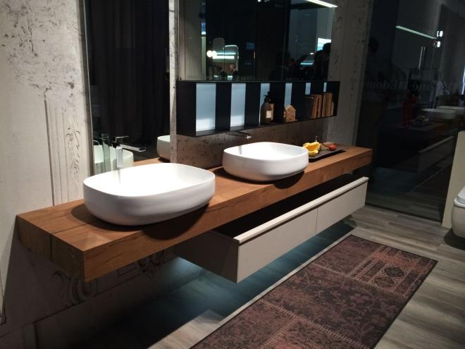 aménagement de salle de bain deux vasques