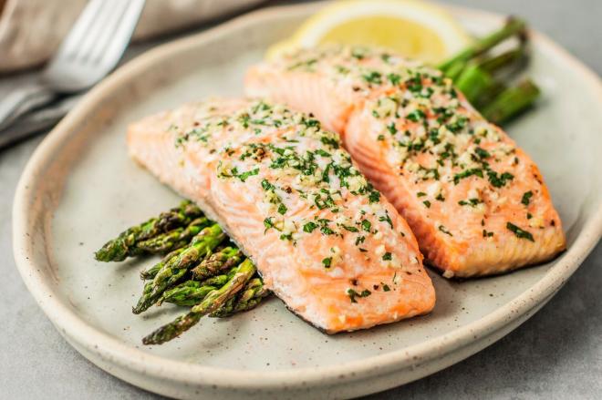 arthrite du saumon cuit