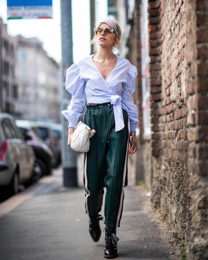 blouse à manches bouffantes must-have