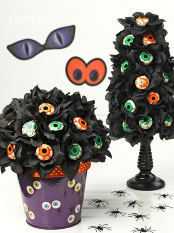 bricolage halloween avec du papier de soie