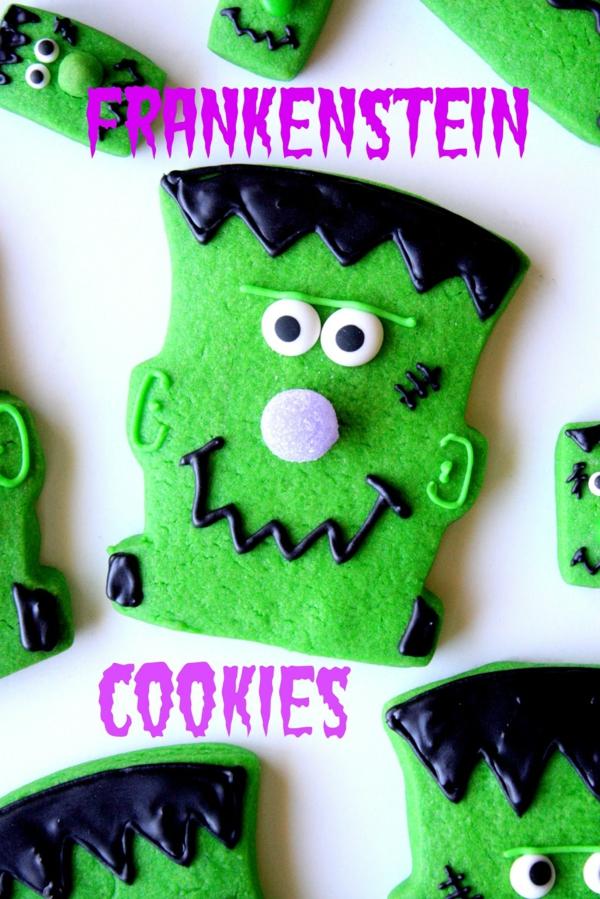 bricolage halloween biscuits frankenstein