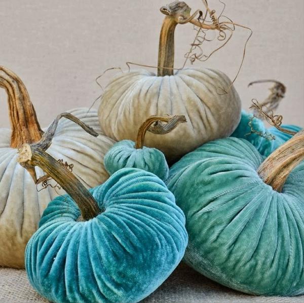 bricolage halloween citrouilles en textile