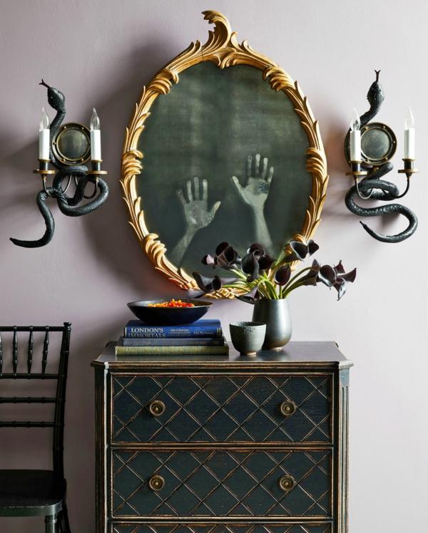 bricolage halloween miroir hanté