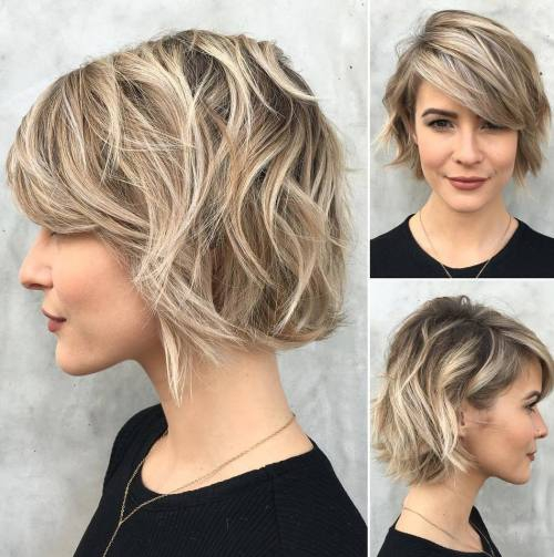coupe bob look moderne