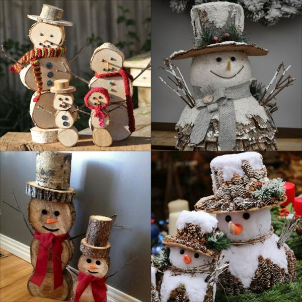 idée de décoration de Noël à fabriquer soi-même à partir de matériaux naturels