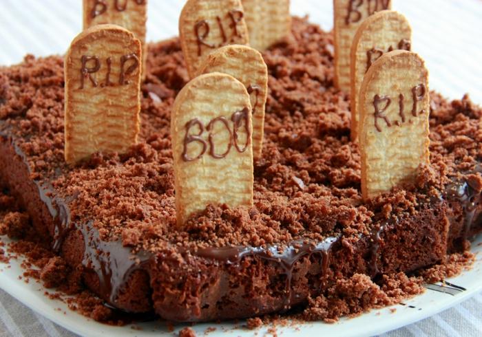 déco facile et amusante gâteau halloween