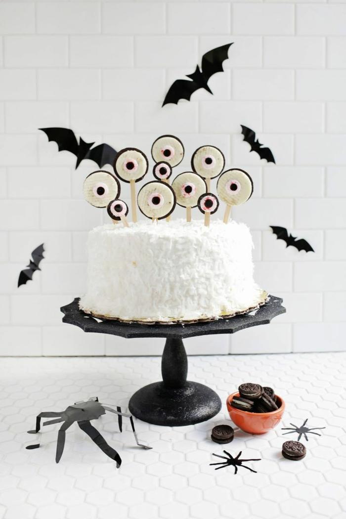 déco facile idée gâteau halloween