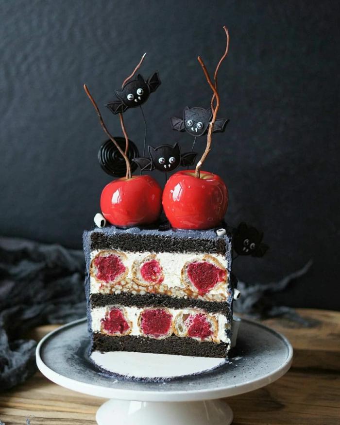 déco pour un gâteau halloween 2019 originale