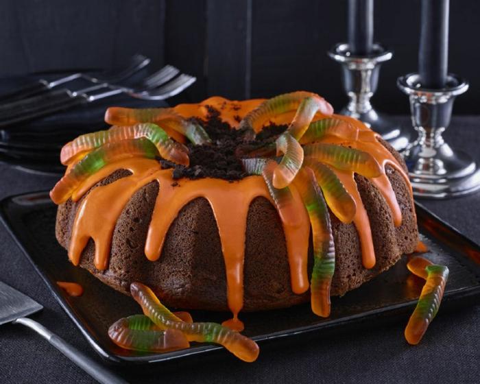 décoration de gâteau halloween facile à faire