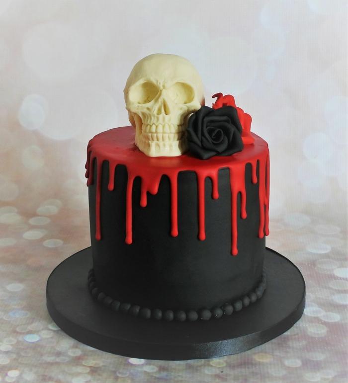 décoration facile gâteau halloween DIY idée unique