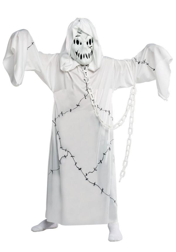 déguisement fantôme imiter des chaînes