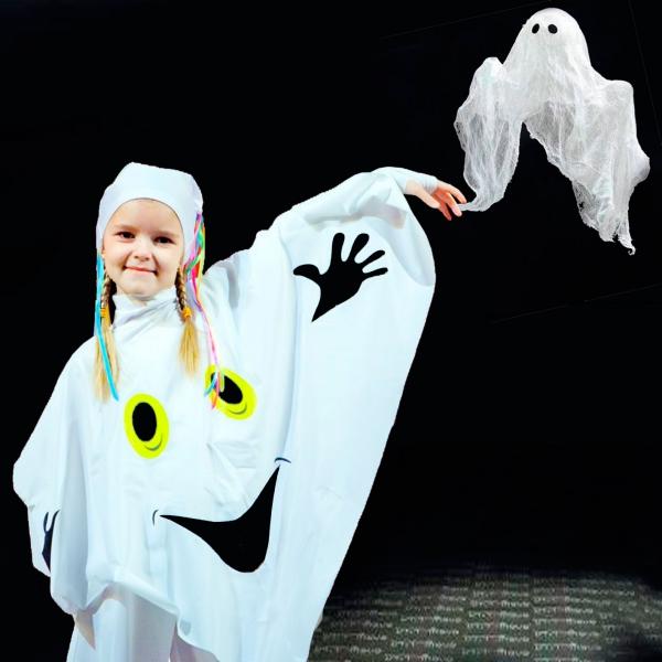 déguisement fantôme un petit fantôme