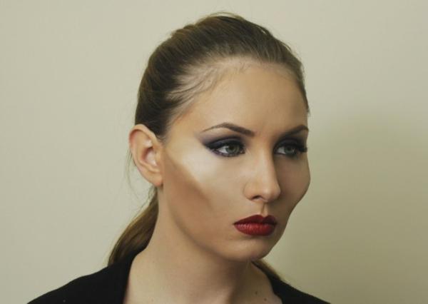 déguisement maléfique halloween maquillage