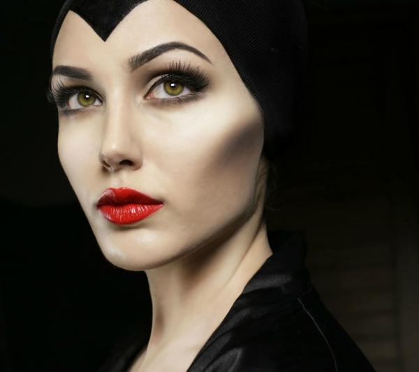 déguisement maléfique maquillage et costume