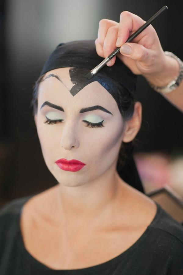 déguisement maléfique maquillage