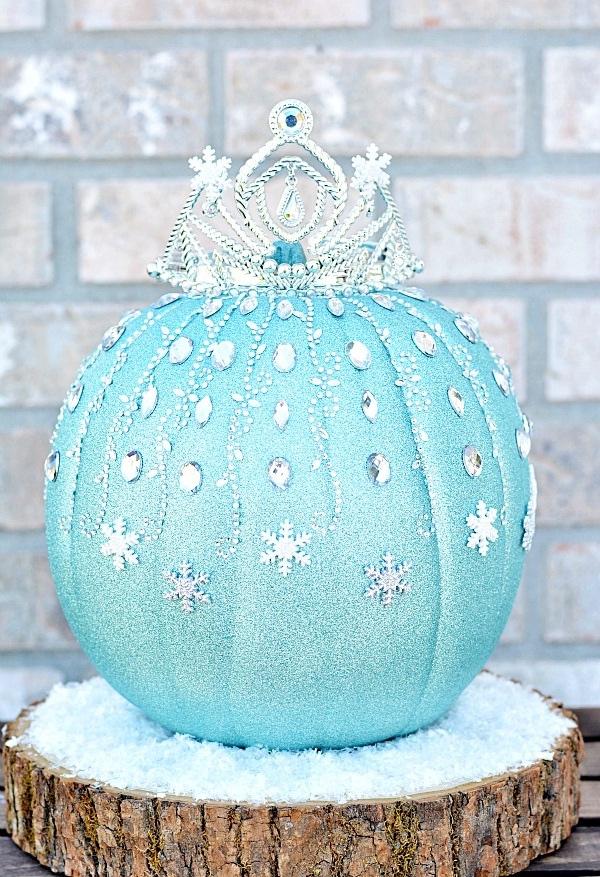 déguisement Elsa citrouille majestueuse