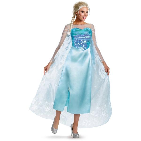 déguisement Elsa jupon en satin