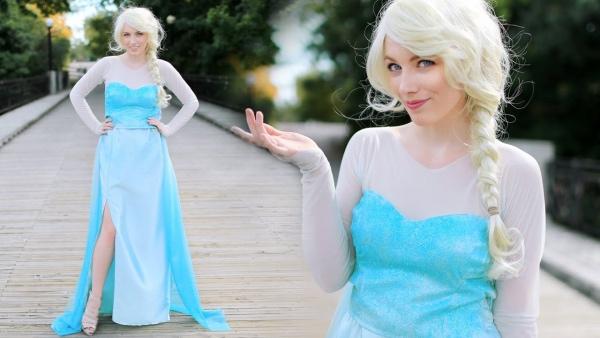 déguisement Elsa pour femme
