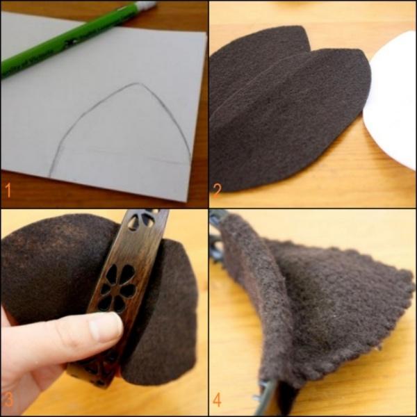 déguisement chat couper les oreilles
