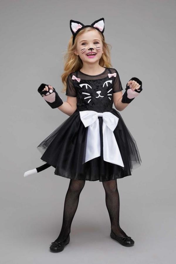 déguisement chat gants-pattes