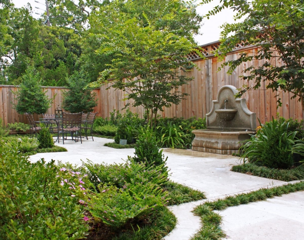 fontaine extérieure de jardin bassin décoratif