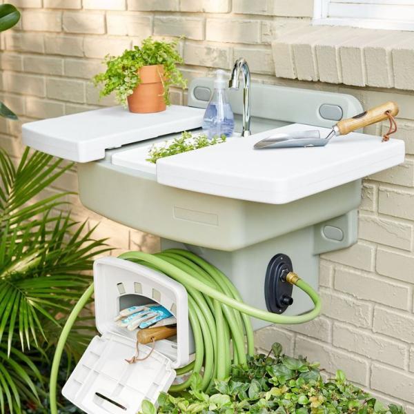 fontaine extérieure de jardin un design pratique