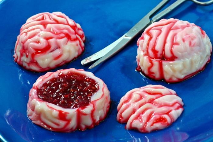 gâteau halloween cerveau
