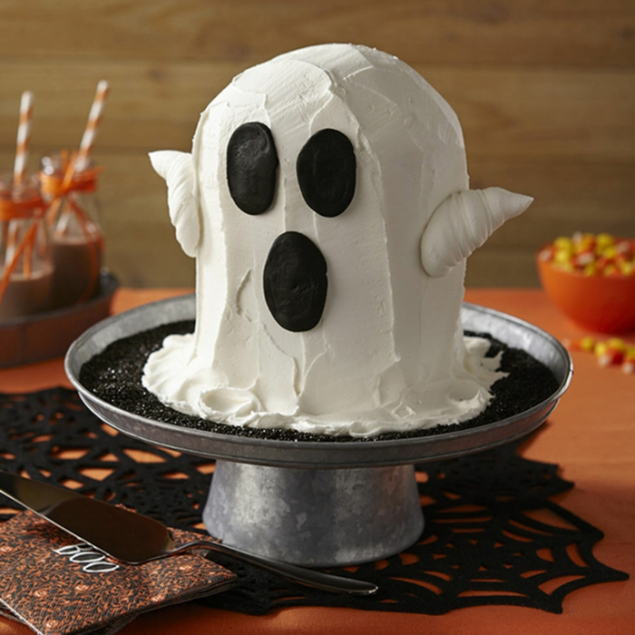 gâteau halloween fantôme