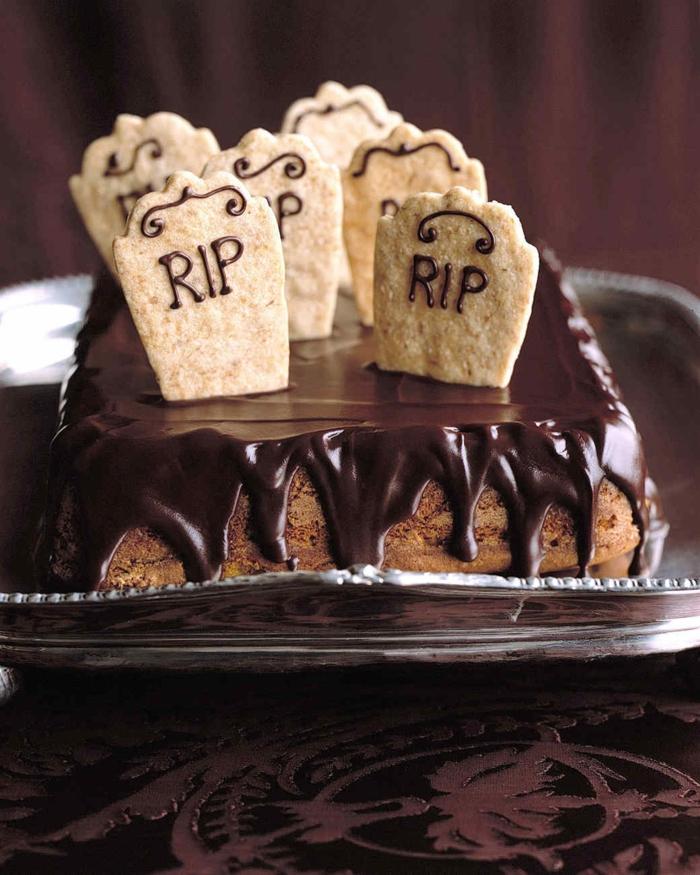 gâteau halloween idée déco 2019