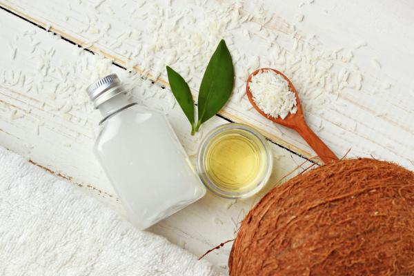 huile noix de coco comme masque