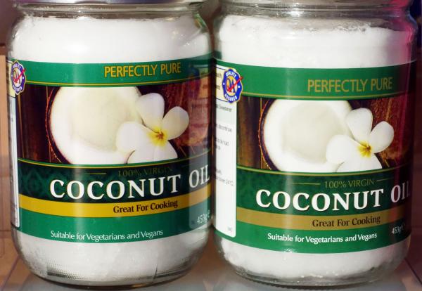 huile noix de coco pour les végétariens