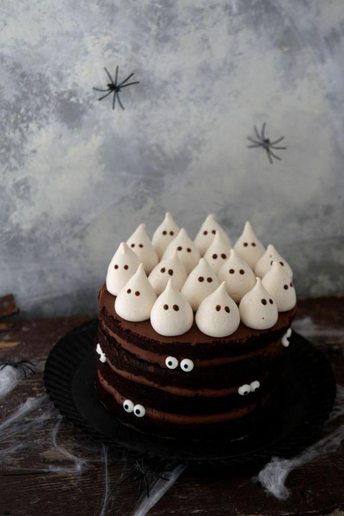 idée amusante de gâteau halloween