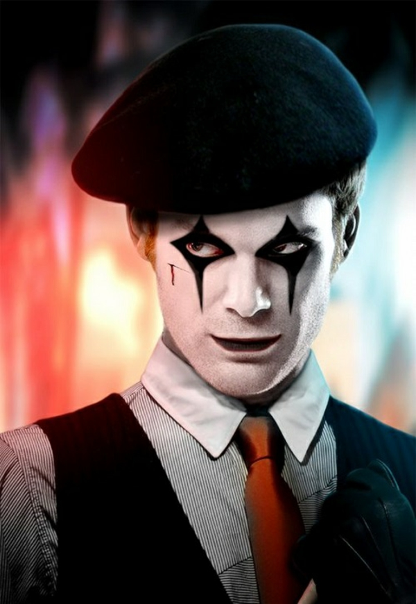 idée de maquillage halloween homme mime