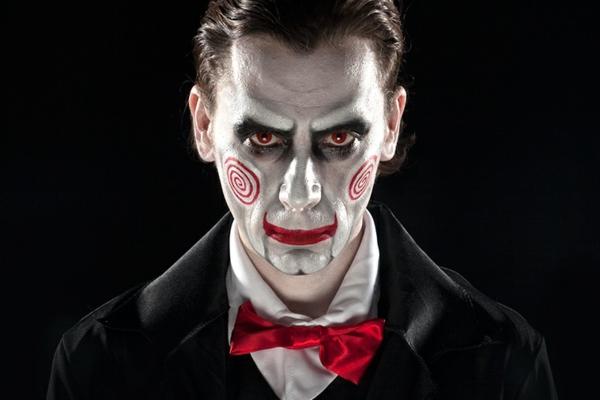 idée de maquillage halloween homme vampire